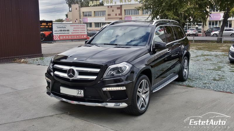 ***** Mercedes Benz GL500 - нанокерамика EverGlass