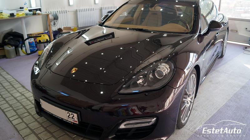 ***** Porsche Panamera (2013) -  нанокерамика Everglass