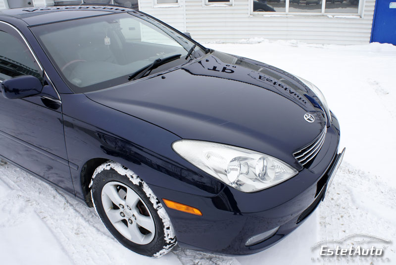 ***** Toyota Windom (2003) - полировка