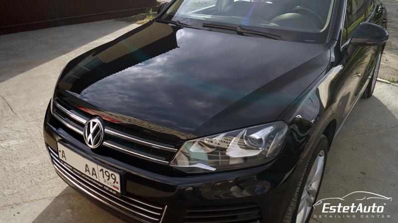 ***** Volkswagen Touareg (2013) - полировка