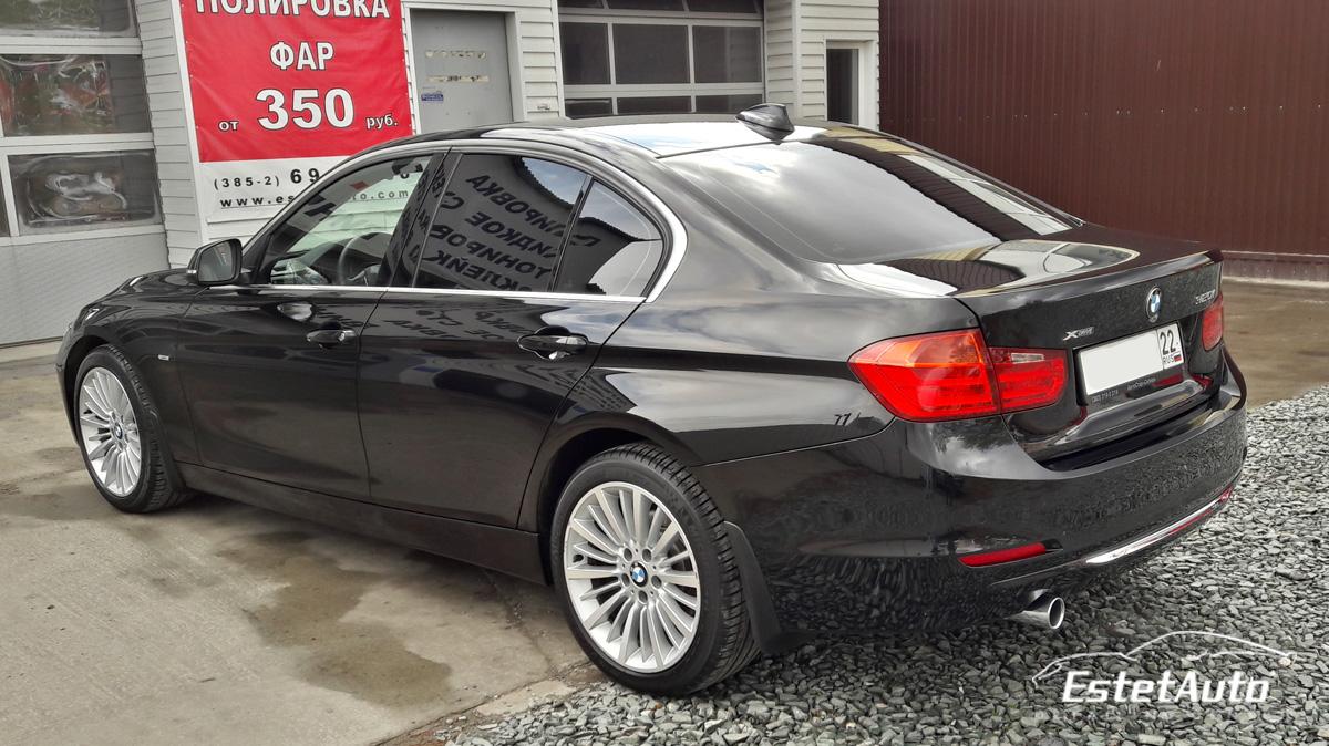 ***** BMW 320i - полировка + нанокерамика