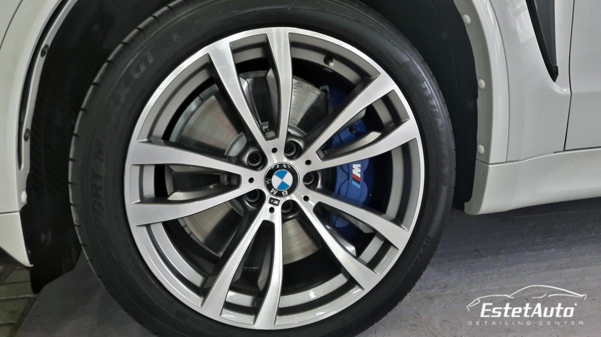 ***** BMW X5M, восстановление блеска и нанокерамика